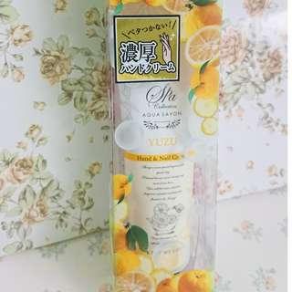 AQUA SAVON 清香柚子味Nail& Hand Cream