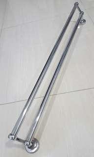 Stainless Steel Tower Rack (2 Rod)