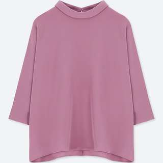 Uniqlo Drape Mock Neck
