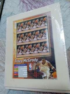 NBA McGrady 美國郵票 stamp 麥基廸 火箭