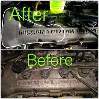 Degreaser and wax