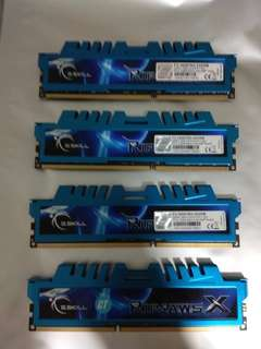 *Price update :) * G.skill Ripjaws X 32GB ( 8GB x 4 ) DDR3 1600MHz