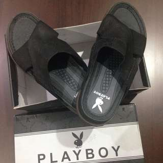 Sandal Kulit Playboy