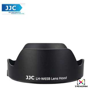 JJC LH-W65B Lens Hood for Canon EF 24mm, 28mm f/2.8 IS USM Camera Lens ( EW-65B )