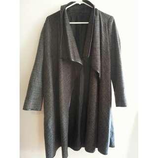 Kinji Grey Checkered Jacket