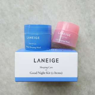 Laneige Sleeping Care Good Night Kit 2pcs