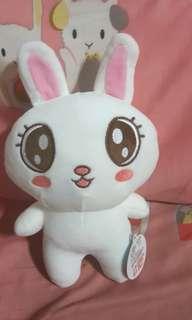 全新含吊牌可愛大眼小兔子娃娃玩偶生日禮物
