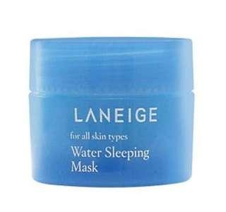 Laneige sleeping mask travel size