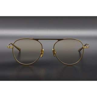 日本小眾販售文藝氣質蒼蠅王眼鏡 鏡面寬: 50mm 鼻樑寬: 20mm 框高: 45mm 鏡腿長: 145mm