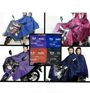 Double raincoat