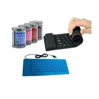 Flexible keyboard for laptop and pc