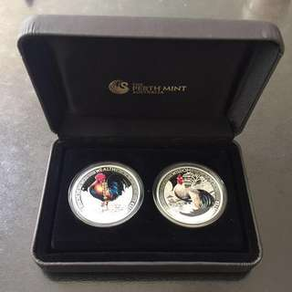 Two-coin Perth Mint Silver Collection