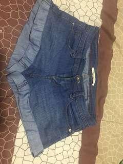 Short Pants Forever21 Denim ukuran 25 (S)