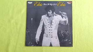 ELVIS PRESLEY . that's the way it is vinyl record