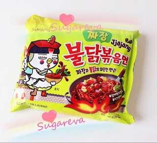 🚚 韓國原裝-三養炸醬火雞麵-加購價39