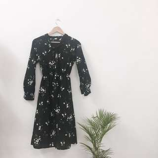 [ Postage Included] Korean Long Sleeves Floral Dress