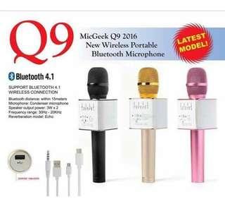 Q9 bluetooth mic