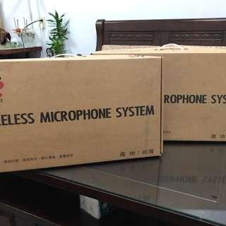 普洛米領夾式無線麥克風2台共4支