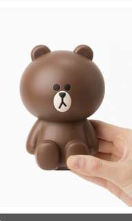 Line friends store official Brown Bluetooth speaker
