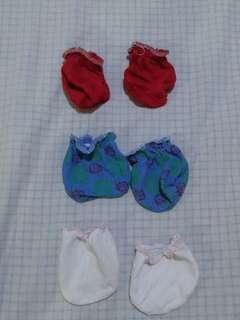 3 mittens bundle
