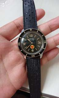 "Vintage Blancpain Aqualung ""No Radiation"" Dail"