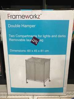 Double Hamper for your Laundry