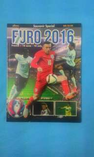 FOOTBALL EURO 2016 Souvenir Magazine (AllSports)