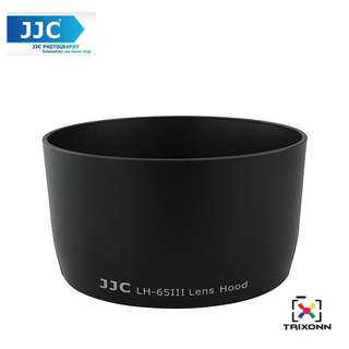 JJC LH-65III Replacement Lens Hood Shade for Canon EF 85mm F1.8, 100-300mm F 4.5-5.6, 100mm F2 ,135mm F2.8 (ET-65III)