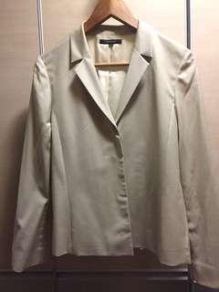 Cour Carré Ivory/ Beige blazer
