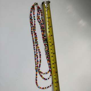 **Quick sell before 5/31** Rainbow color necklace