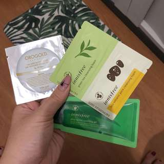 Tester Innisfree & Orogold (take all)