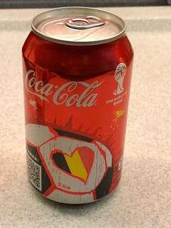Coca-Cola 可囗可樂 2014 Fifa World Cup Brazil 世界盃 - Belgium 比利時