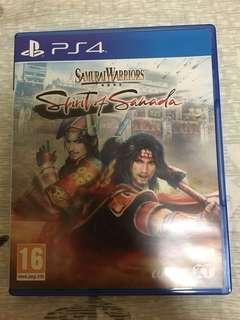 Samurai Warriors: Spirit of Sanada(PS4)