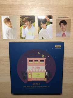 ASTRO dream part 1 night ver. (with photocards)