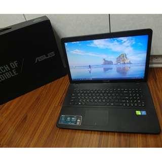 【出售】ASUS X751S 17.3吋 四核心 筆記型電腦 (雙硬碟)