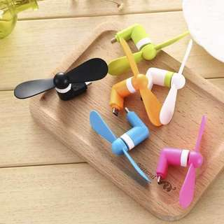 #004 🔥Cellphone Mini Fan for Android
