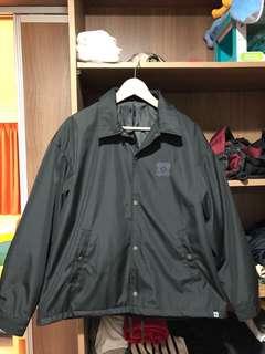 🚚 GU-黑色風衣(今夏最夯教練外套)