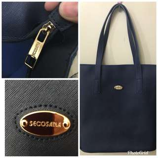 Blue shoulder Bag by Secosana