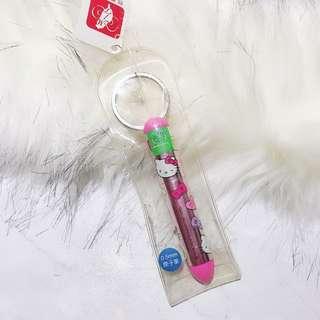 凱蒂貓鑰匙圈原子筆