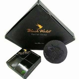 Black Wallet Facial Soap