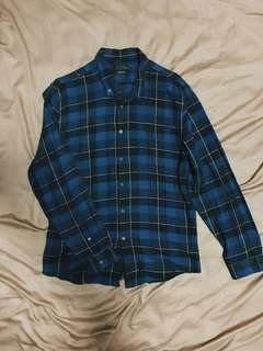 Zara plaid polo