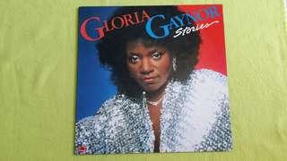 GLORIA GAYNOR . stories. vinyl record