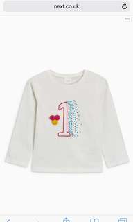 Next baby top for 1 year old