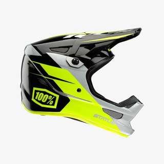 100% Status Full Face Helmet ( mtb mountain bike scooter escooter )