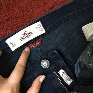 Hollister Low Waist Skinny Jeans