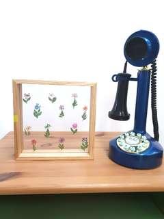 Press Flowers in Frame
