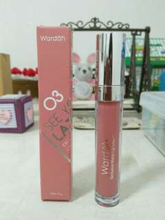 Wardah Exclusive Matte Lip Cream No. 03:See You Latte