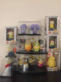 Bulk Minions character toys with case