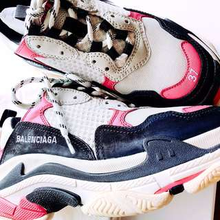 觀賞用😏balenciaga triple S ALL SOLD OUT