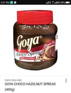 Goya hazelnut 400g